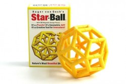 Creative Whack Company - Star-Ball - Geel