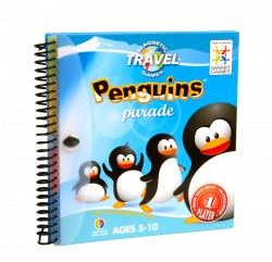 Magnetic Travel Games - Penguins Parade - Magnetics serie