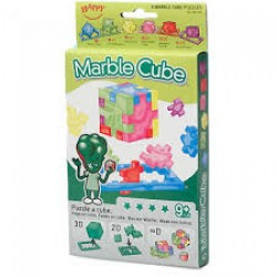 Happy Cube - Marble Cube - 6 pack