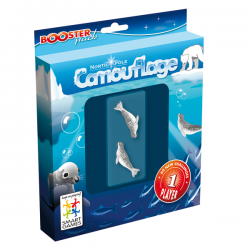 SmartGames Boosterpack - Camouflage North Pole
